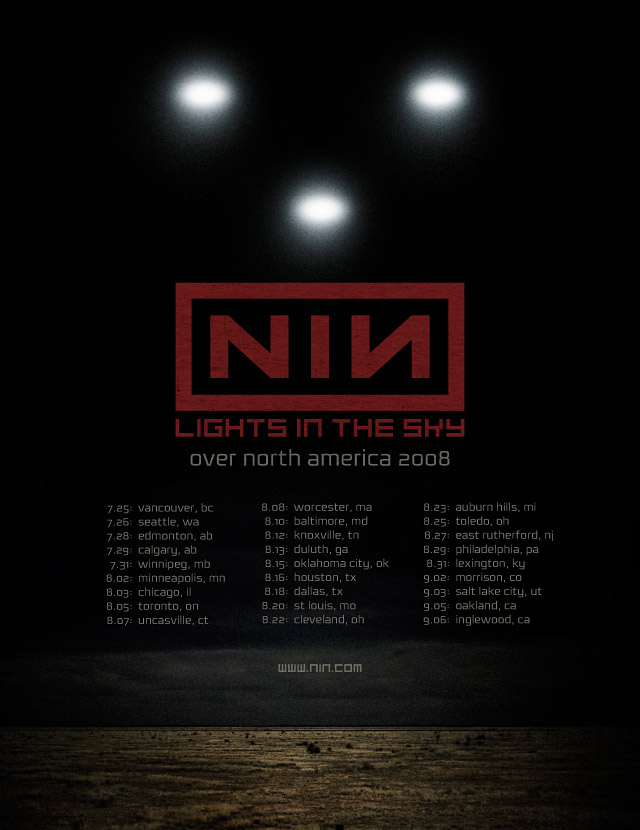 Lights In The Sky Tour Leg 1 Poster